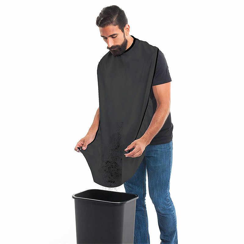 ذكر اللحية المئزر الرجال حلاقة المئزر مقاوم للماء القماش المنزلية تنظيف حامي اكسسوارات الحمام فوطة طعام للكبار