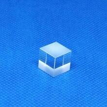 1 шт. PBS поляризация луч куб разделитель призма видимый свет линза для 650 нм красный лазеры 10 мм диаметр