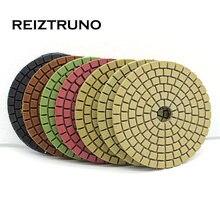 Reiztruno 1 шт алмазная полировальная площадка 3 дюйма мокрого