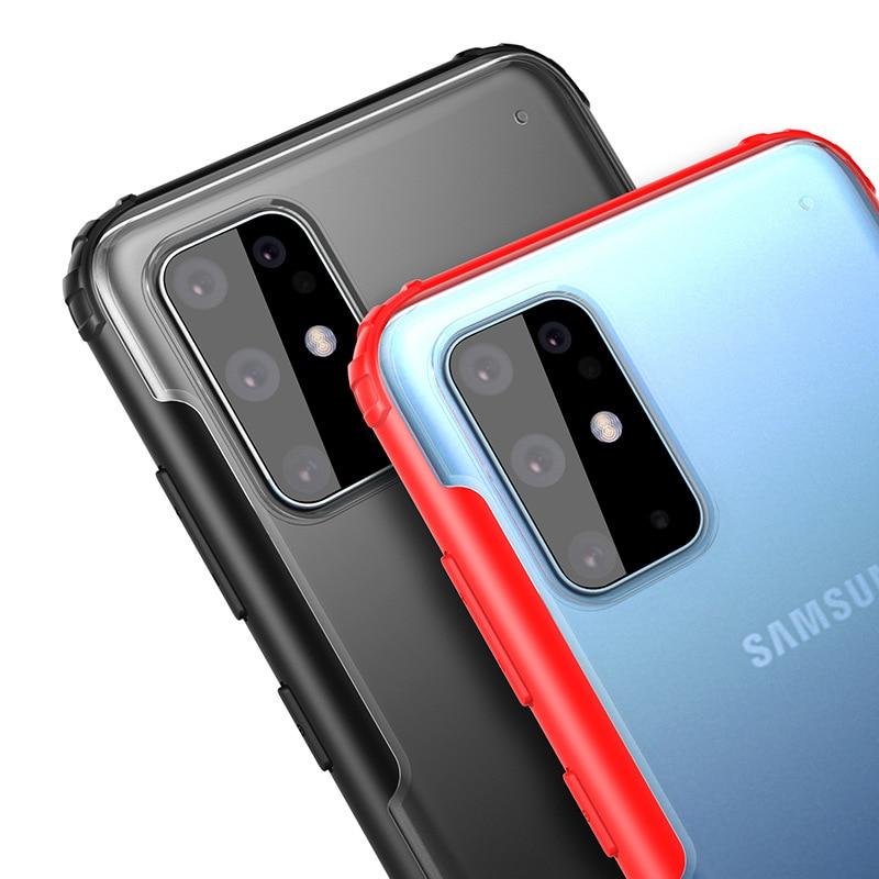 Thin Matt Crystal Case Samsung Galaxy S20
