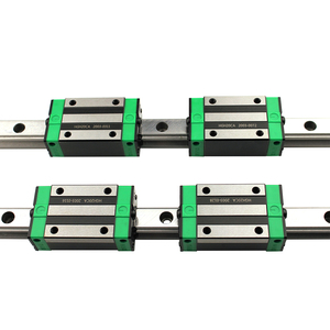 Image 3 - 2PCS HGR20 HGH20 Square Linear Guide Rail Any Length+4PCS Slide Block Carriage HGH20CA /Flang HGW20CC CNC Parts Router Engraving