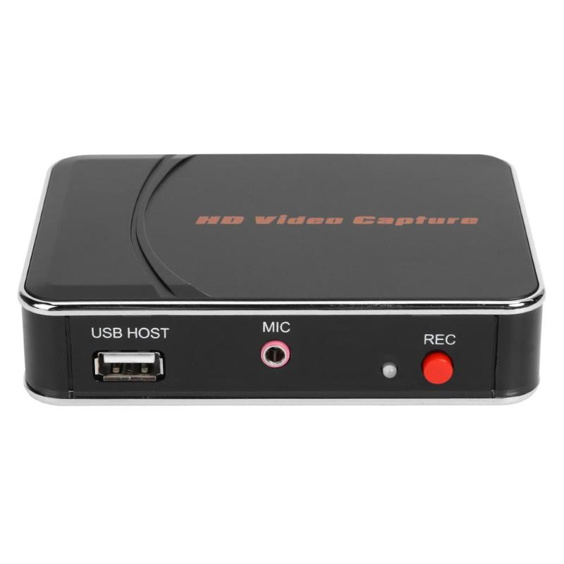 1080P Game HDMI Video Capture Grabber USB2.0 Capture Card Game Video Recorder External Audio Input For Real-time Voice