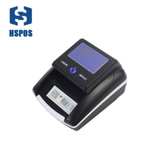 Mini Portable LCD Screen Small Money Counter Banknote Detector Support USD & EUR HS-130A