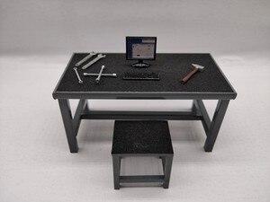 1/18 модель ремонта автомобиля мастерская реквизит сцены гаража ремонтный набор инструментов
