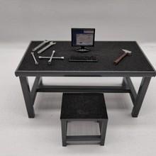 1/18 model car repair workshop props scene garage repair tool set