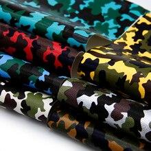 20*34 см Камо Bump текстура искусственная кожа тканевые простыни для DIY сумки обувь изготовление ручной работы ремесла, 1Yc6634