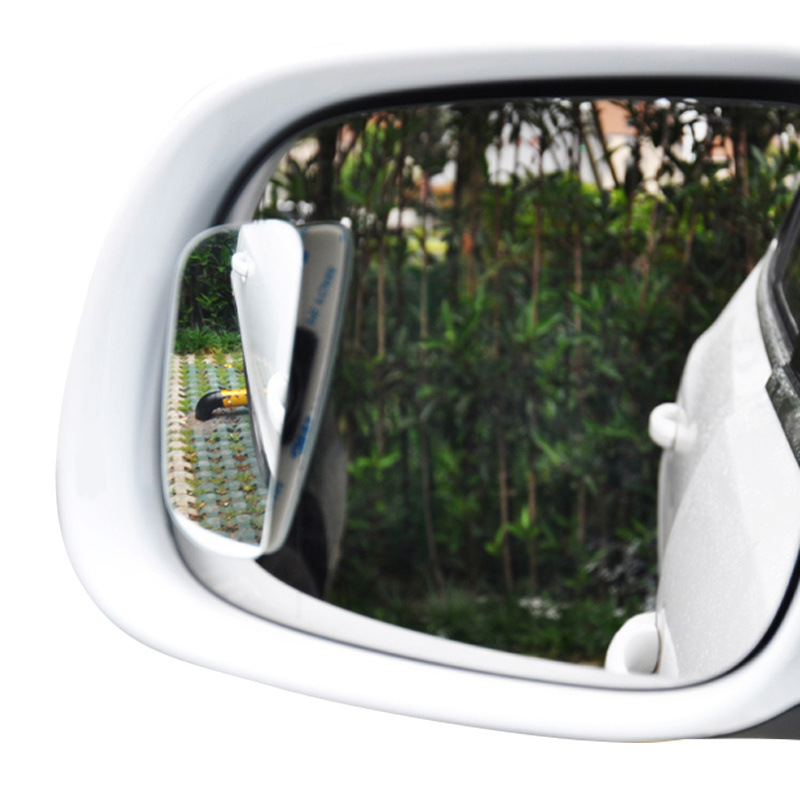 CHIZIYO 2pcs/Set Auto Car Side 360 Wide Angle Convex Mirror Car Vehicle Blind Spot Dead Zone Small Rearview Mirror