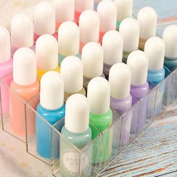 24 sztuk zestaw przezroczysta żywica epoksydowa Pigment UV żywica barwnik DIY biżuteria Colorant rzemiosło artystyczne kolorowanie tonowanie kolor mieszanie ciecz Decor tanie i dobre opinie Epoxy pigment Propylene ZHUTING 6 lat PŁÓTNO Papier Szkło Wodne farby w różnych kolorach CN (pochodzenie) 95AD2SS308574-2