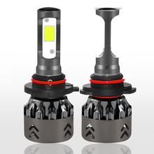 H4 H13 9004 9007 Bulbs Hi-Lo Beam H1 H3  H7 H11 9005 9006 880 car Headlight 80W 8000LM 6000k Led for Mini6 COB 1PC