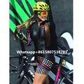 2019 Essere Feroce Vv delle Donne aero triathlon Custom Trisuit Mockup Set Biker Jersey di Riciclaggio Abbigliamento Ciclismo sport all'aria aperta in esecuzione vestiti