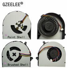 Gzeele novo laptop cpu ventilador de refrigeração, para lenovo g480 g480a g480m g485 g580 g585 4 pinos cpu cooler computador notebook por exemplo,