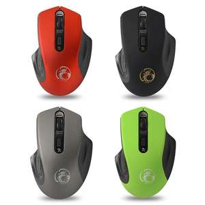 3-Levels DPI Optical-Mice Computer Laptop Adjustable Wireless-Mouse Silent 4 for PC Office-Use