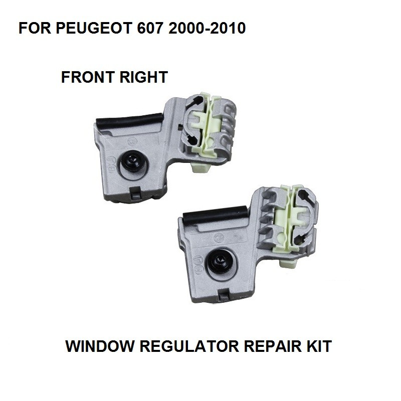 ELECTRIC WINDOW METAL CLIPS KIT FOR PEUGEOT 607 ELECTRIC WINDOW REGULATOR CLIP FRONT-RIGHT SIDE NEW 2000-2010