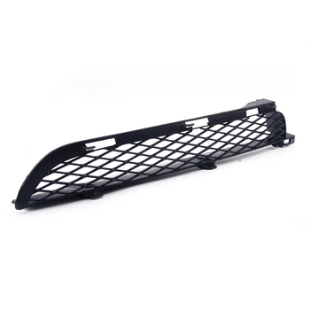 Right Black Front Grilles Upper Bumper Mesh Grill Trim fit for BMW X5 E53 2004 2005 2006 image