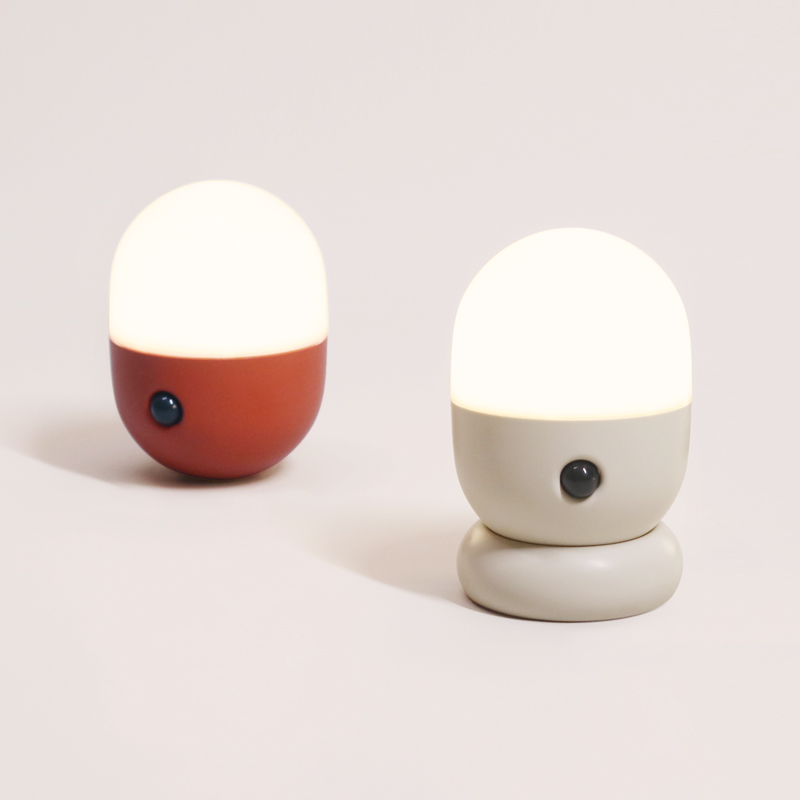 Capsule Sensor Led Night Light Portable PIR Motion Rechargeble Magnetic Fixed Wall Lamp Desk Light Stair Corridor Passage