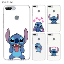 Uyellow Disneys Stitchs Luxury Phone Case For Huawei Honor 8A 8X 8C 8S 9 9X 10 20 lite Pro Play 20i V20 Silicone Cover