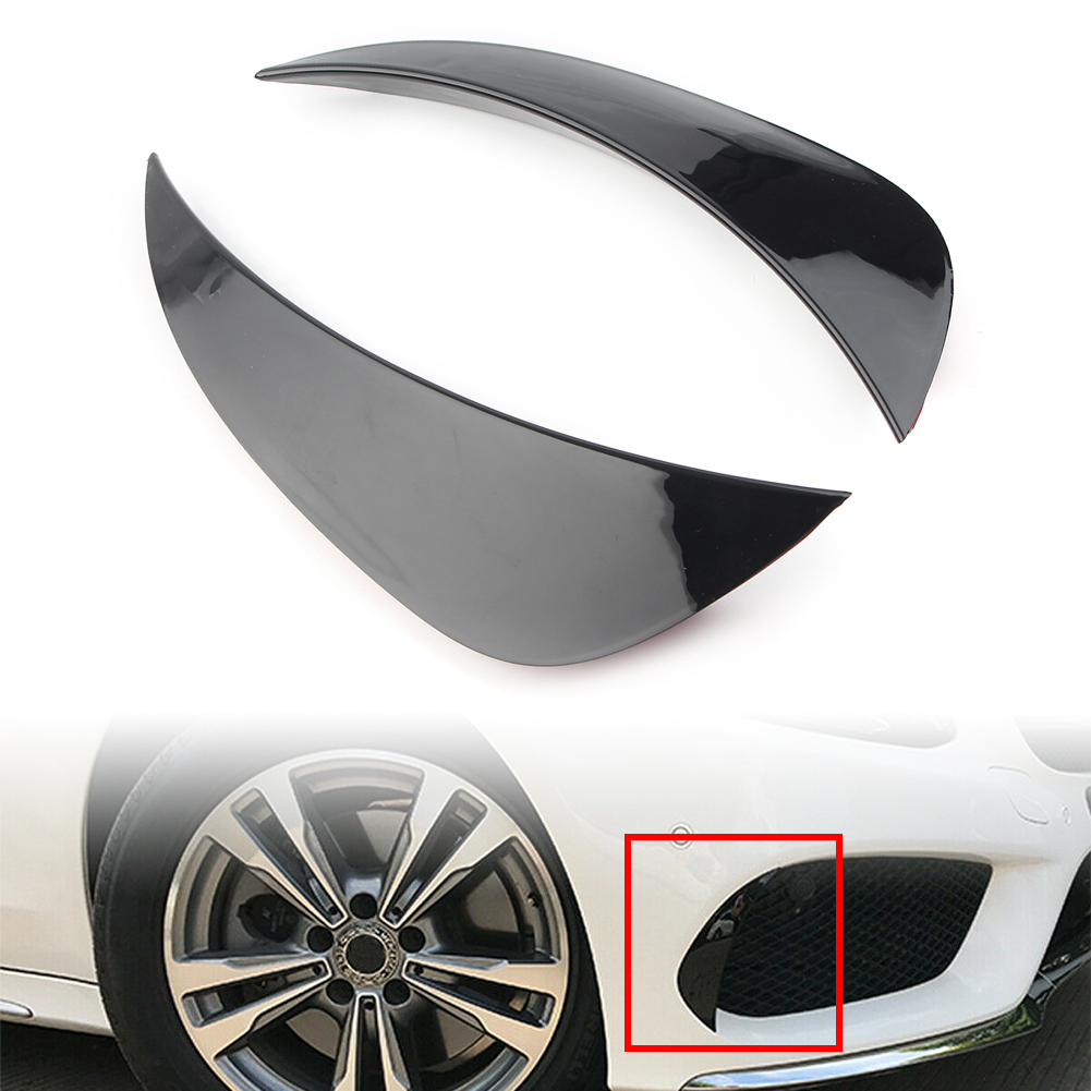 Auto Front Bumper Air Vent Outlet Cover Trim For Mercedes Benz <font><b>W205</b></font> C-Class C180 <font><b>C200</b></font> C300 C400 C43 C63 <font><b>AMG</b></font> 2015 2016 2017 2018 image