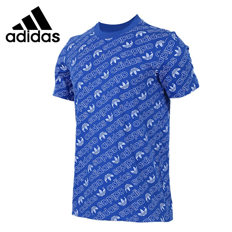 Original New Arrival 2018 Adidas Originals AOP Tee Men's  T-shirts  short sleeve Sportswear