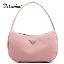 Pink womens handbags Mini women bags High density waterproof nylon cloth Shopping Bag ladies tote bolso mujer sac main femme