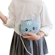 6 stili più nuovo arrivo bambini ragazza borse a tracolla simpatico cartone animato animale portamonete borsa portafoglio per bambini borsa piccola moneta