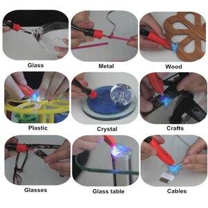 Image 3 - VISBELLA 2020 UV Light Super Glue 5 Second Fix Pen Plastic Glass Metal LED Screen Wood Adhesive Caulk Waterproof Heat Resistant