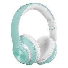 Bezprzewodowy zestaw słuchawkowy PunnkFunnk Bluetooth Headpone 5.0 składane radio z głębokim basem redukcja szumów słuchawki do gier na telefon PC Xbox
