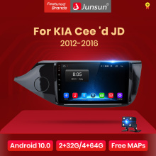 Junsun V1 2G + 32G Android 10 DSP auto Radio Multimedia Video Player navegación GPS para KIA Cee 'd CEED JD 2012-2016 2 din SIN dvd
