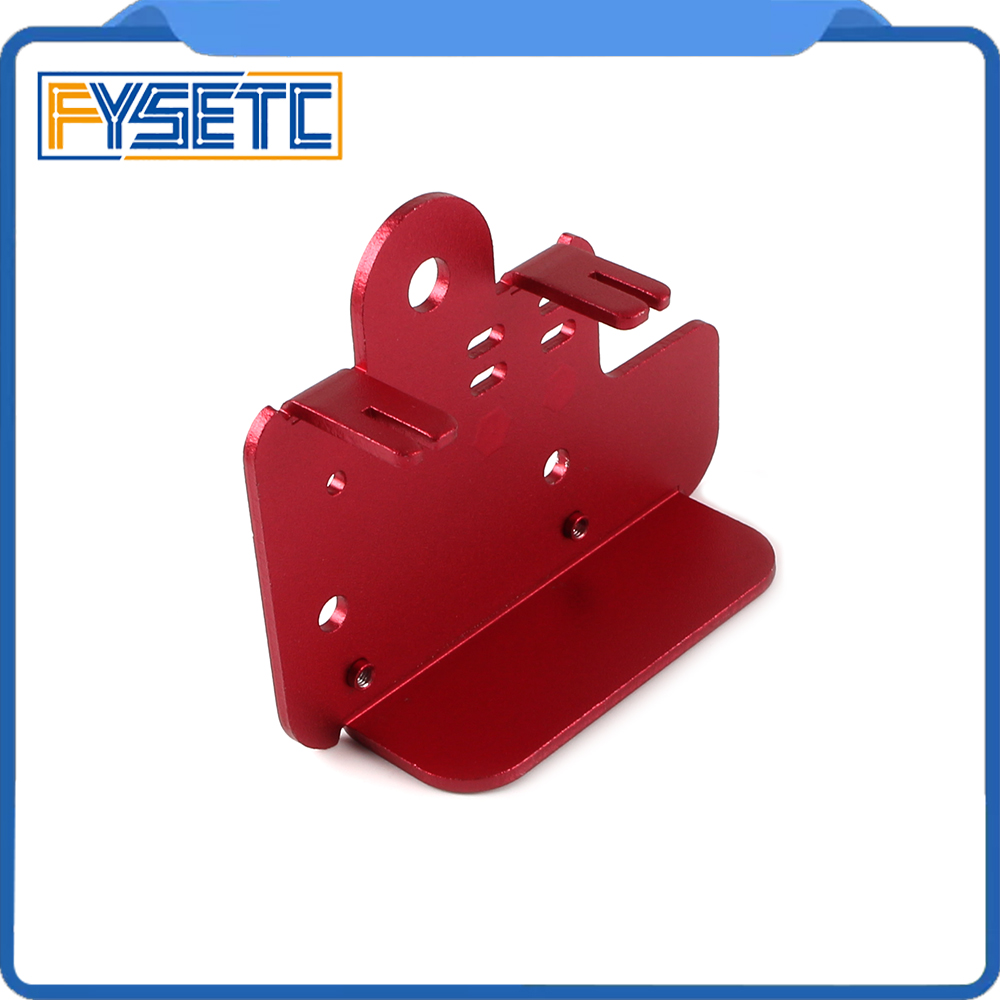 1PC Extruder Back Plate 2.5mm Aluminium Plate For <font><b>Creality</b></font> <font><b>CR10S</b></font> CR-10S Pro 3D Printer Part image