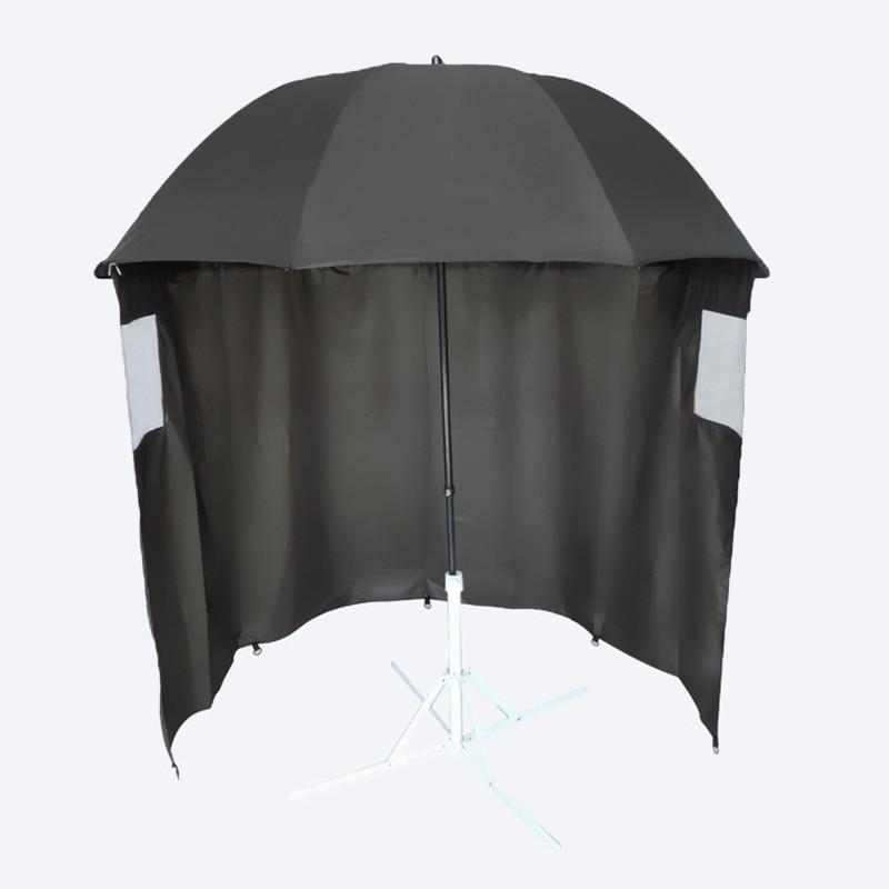 Fishing Umbrella Two Fold Double Layer Outdoor Water Resistant Universal Fishing Umbrella Customizable Adjustable Sun-resistant