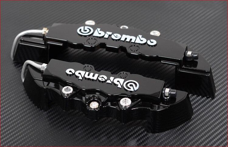 דיסק בלם Caliper כיסוי 3D מילת כסף בלם כיסוי Fit כדי 14-19 סנטימטרים רכב 2S האוניברסלי ערכה