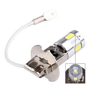 Image 4 - H3 LED ampuller araba sis lambası yüksek güç lamba 5630 SMD otomatik sürüş Led ampuller araba işık kaynağı park 12V 6000K kafa lambaları