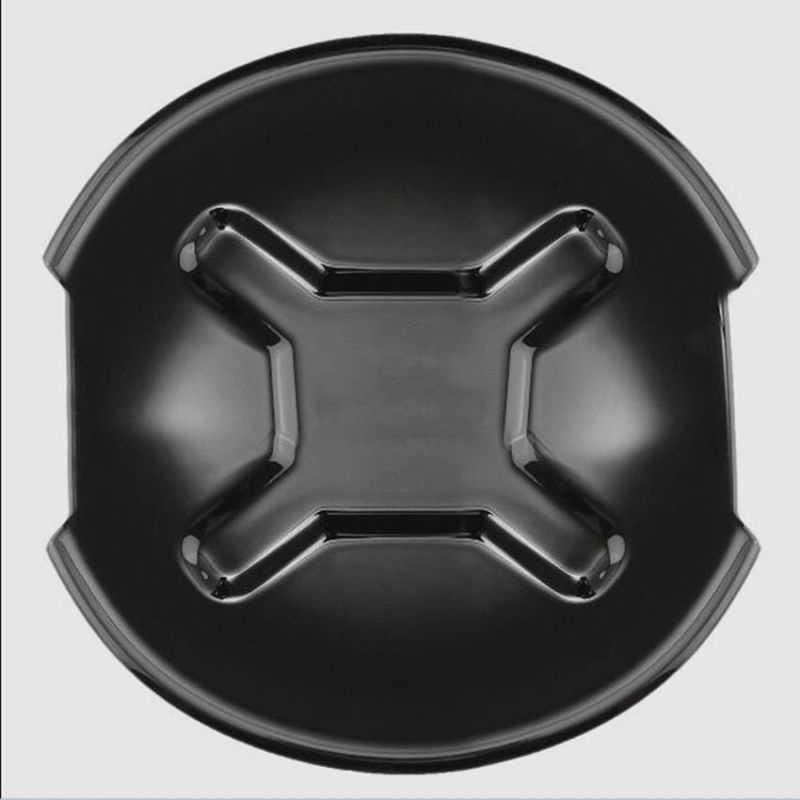 Hiasan Mobil 4× Hitam Door Handle Bowl Alat ABS Penutup Menangkap untuk Jeep Renegade 2015-2018 Terbaru