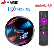 TV Box Android 9.0 H96 max X3 Amlogic S905X3 4GB 128GB 64GB smart tv box 8K android box tv H96X3