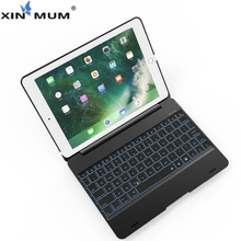 цена на XIN-MUM Wireless Bluetooth Keyboard Case For iPad Air 2 Protective ABS Cover For Apple iPad Pro 9.7 inch for iPad Air 1