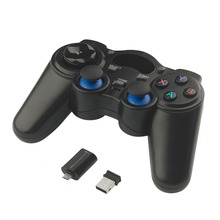 2.4GHz Wireless Game Pad Joypad Controller Handle Gamepad Joystick With OTG Converter For Windows 8/7/XP Android 2.3
