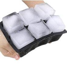 Идеальный силиконовая для кубиков льда формы торта Формы для пуддинга, шоколада легко снимается для фруктового льда стойкие к выцветанию