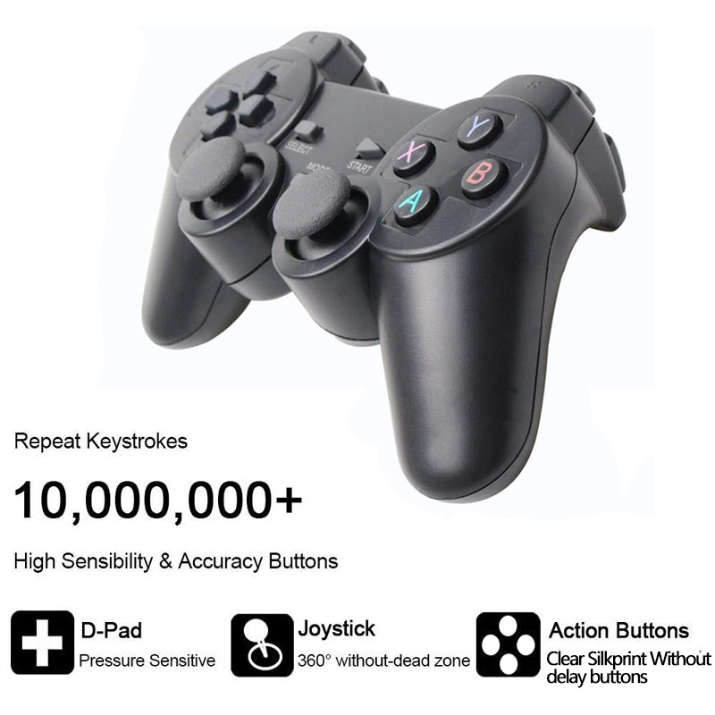 Wired USB Joystick PC Controller Gamepad For WinXP/Win7/Win8/Win10 For PC Computer Laptop Black Game Joystick Gamepad Gaming