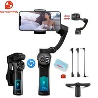 Snoppa Atom stabilizzatore cardanico palmare tascabile pieghevole a 3 assi per Smartphone Huawei IPhone Action Camera, ricarica Wireless