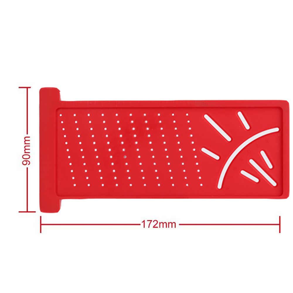 البلاستيك الدقة النجارة الكاتب علامة خط مقياس T-نوع عبر خارج حاكم نجار قياس أداة قياس زاوية حاكم