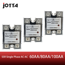 SSR -80AA AC control AC SSR Single phase Solid state relay все цены