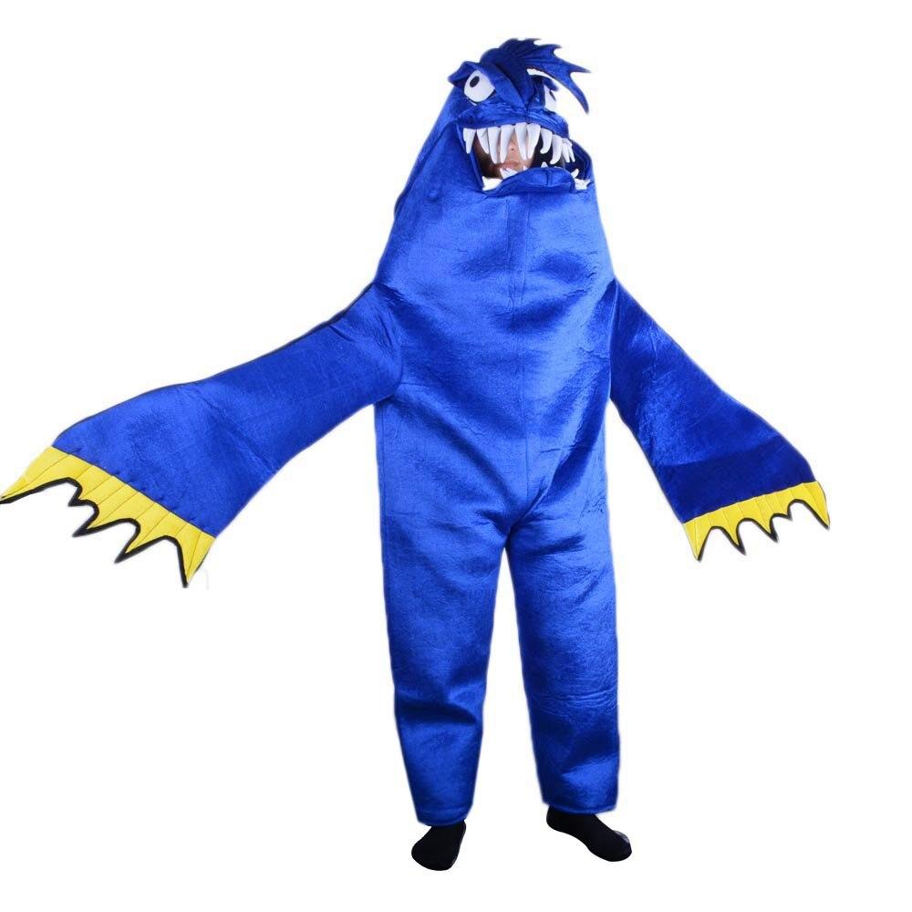 Взрослый синий костюм акулы талисмана маскарадный костюм Хэллоуин Рождественский костюм голодна Акула Косплей