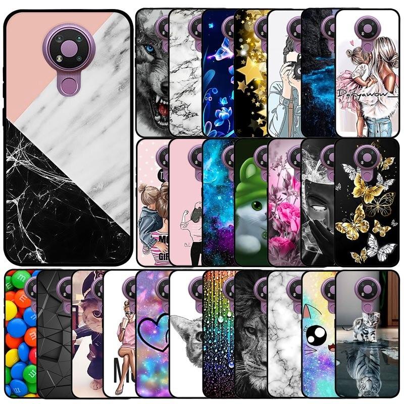 Telefon Fällen Für Nokia 3,4 Fall Abdeckung Für Nokia 3,4 Fall Nette Silikon Schutzhülle Zurück Abdeckung Für Protector Nokia 3,4 stoßstange Coque