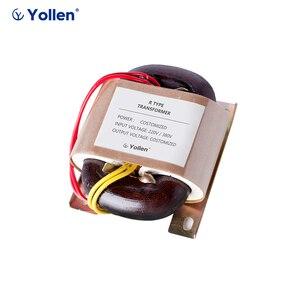 R-TYPE R30 30 Вт 30VA Напряжение силового трансформатора может регулировать 220 В/380 В до 6 В/9 В/12 В/15 В/18 в/24 В OEM поддержка маска для лица машина R-ядро