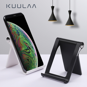 KUULAA Phone Holder Stand mobile Phone Support Desktop Tablet Stand for iPhone 11 pro max X XS XR xiaomi mi 10 9 holder phone(China)
