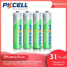 PKCELLแบตเตอรี่AAA 850Mah 1.2V NIMH AAAแบตเตอรี่ ชาร์จLow Self Dischargeแบตเตอรี่Aaaสำหรับกล้องไฟฉาย