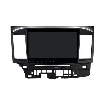 "Android 10,0 coche estéreo 10,2 ""pantalla HD TDA785 para Mitsubishi Lancer 10 EVO Radio 1 Din GPS navegación Bluetooth 5,0"