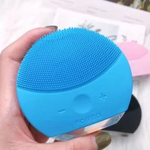 Face Washer Ultrasonic Silicone Brush Electric Pore Cleaner Import Cleansing Instrument
