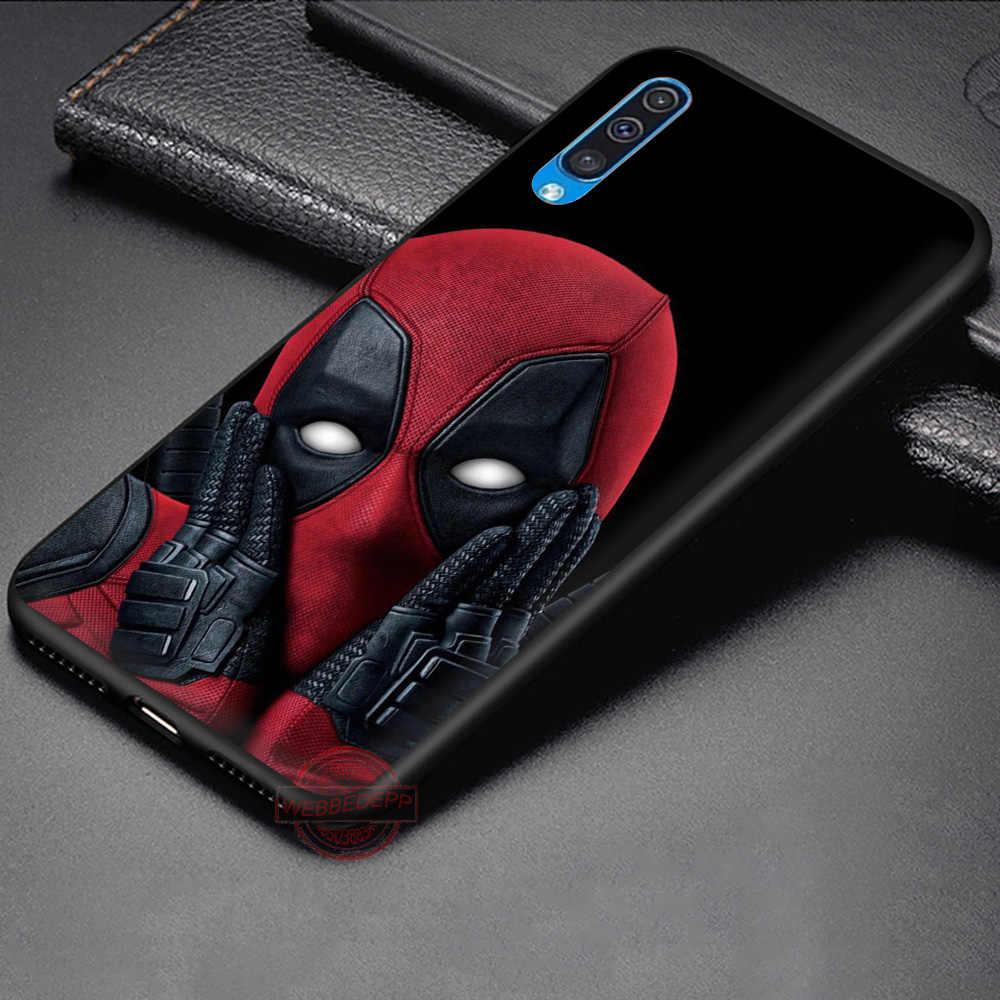 WEBBEDEPP Deadpool Soft Phone Case for Samsung A10S A6 7 8 9 A10 20 A40 A50 A60 A70S M10 M20 30