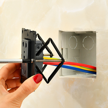1 комплект (6 шт.) инструмент для ремонта настенного переключателя и коробки для ремонта Secret Stash 86 мм Переключатель Кассетный ремонтник опорный стержень аксессуары для электрика