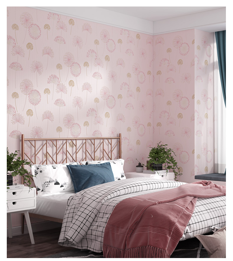 Official Disney Baby Deco Kids Nursery Blue Textile Design Wallpaper LS3018-1